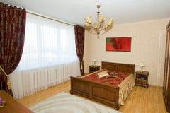 sypialni wnętrza strzał Zdjęcia Stock