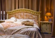 sypialni wnętrze obraz royalty free