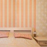 sypialni wnętrza kanapa Obrazy Royalty Free