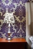 Sypialni wnętrza wystrój Zdjęcia Royalty Free