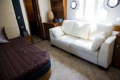 Sypialni wnętrze Zdjęcie Royalty Free