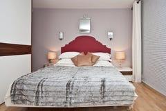 sypialni wnętrze obrazy stock