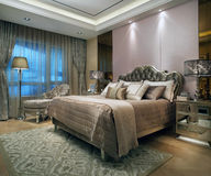Sypialnia zdjęcie royalty free