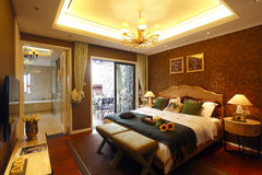 Sypialnia zdjęcie stock