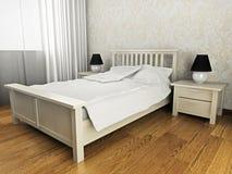 sypialnia Fotografia Stock