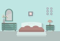 2 sypialnia Obrazy Stock
