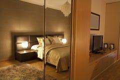 sypialnia apartament Obrazy Stock