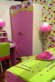 sypialnia dzieciaki Zdjęcie Stock