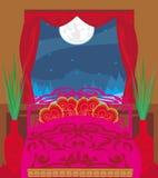 sypialnia elegancka Zdjęcie Royalty Free