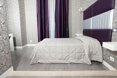 sypialnia elegancka Obrazy Royalty Free