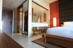 sypialnia hotel Zdjęcia Royalty Free