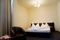 sypialnia hotel Obrazy Royalty Free