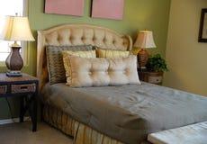 sypialnia jest luksusem zdjęcie stock