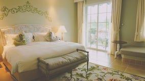 sypialnia jest wygodna Obrazy Royalty Free