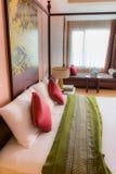 sypialnia luksus nowoczesnego Zdjęcie Stock