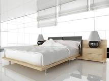sypialnia nowoczesnej ilustracji