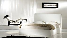 sypialnia nowoczesnej Zdjęcia Royalty Free