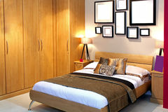 sypialnia szczegół Zdjęcia Royalty Free