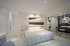 Sypialnia wewnętrzny projekt Zdjęcie Royalty Free
