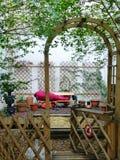 Sypialny bezdomny Austria Wiedeń, Luty, - 18, 2014 obraz stock