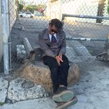 Sypialny modniś na ulicach Los Angeles Zdjęcie Royalty Free