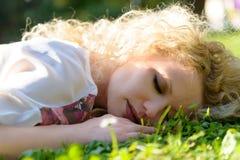 Sypialny piękno zdjęcia royalty free