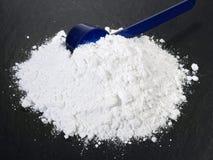 Syra-Grund-jämvikt pulver - sund näring arkivfoto