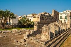 Syracusa-Ruinen Lizenzfreies Stockbild