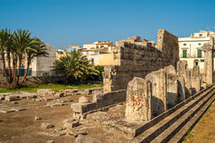 Syracusa Ruins. In south Sicily Royalty Free Stock Image