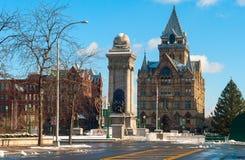 Syracuse à Noël Photographie stock libre de droits