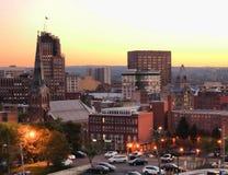 Syracuse en el crepúsculo Foto de archivo libre de regalías