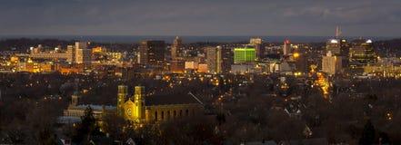 Syracuse i stadens centrum New York Royaltyfri Bild