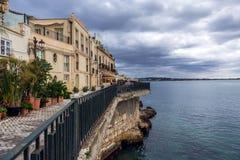 Syracuse in Italy Royalty Free Stock Photos