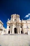 Syracuse, le Duomo Photo libre de droits