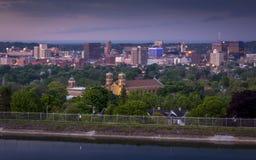 Syracuse New York Van de binnenstad Royalty-vrije Stock Afbeeldingen