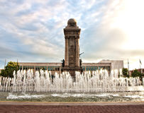 Syracuse, New York. View of Clinton Square in Syracuse , New York at sunrise Stock Photography