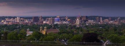 Syracuse Nueva York céntrica Fotos de archivo libres de regalías