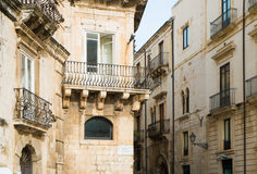 Syracuse Ortigia Royalty Free Stock Images