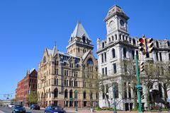 Clinton Square, Syracuse, New York State Royalty Free Stock Image