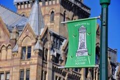 Historic Clinton Square, Syracuse, New York Royalty Free Stock Image