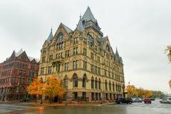 Syracuse Savings Bank, New York Royalty Free Stock Photos
