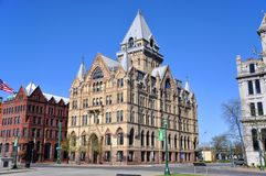 Syracuse Savings Bank, New York, USA Royalty Free Stock Photo