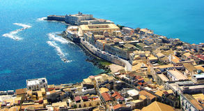 Syracuse Sicily royaltyfri fotografi