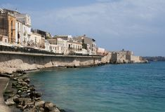 Syracuse,Sicily,Italy Royalty Free Stock Photo