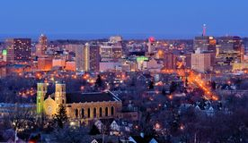 Syracuse Skyline Stock Photos