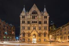 Syracuse sparbankbyggnad Royaltyfria Bilder