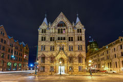 Syracuse sparbankbyggnad Arkivbilder