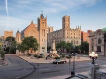 Syracuse van de binnenstad, vroege ochtend Royalty-vrije Stock Foto's