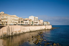 Syracuse waterfront, Italy Royalty Free Stock Photography
