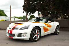 Syrakus-Angehörigautoshow Lizenzfreies Stockfoto